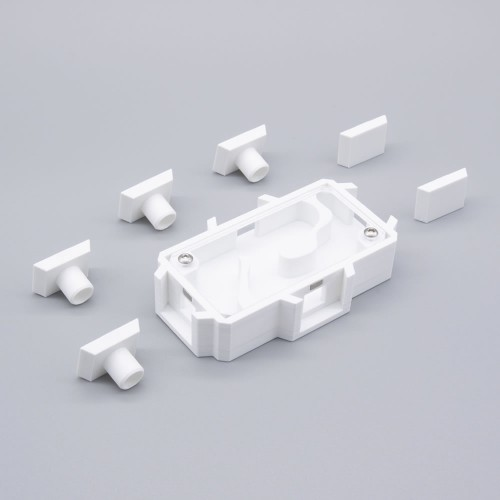 4 Way Double Connector