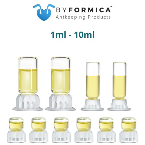 byFormica Liquid Feeders - Assorted Sizes - 10 Pack - 1ml to 10ml