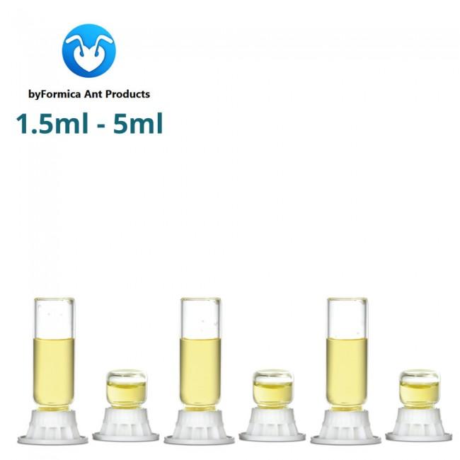 byFormica Liquid Feeders Mini - 1.5ml to 5ml - 6 Pack