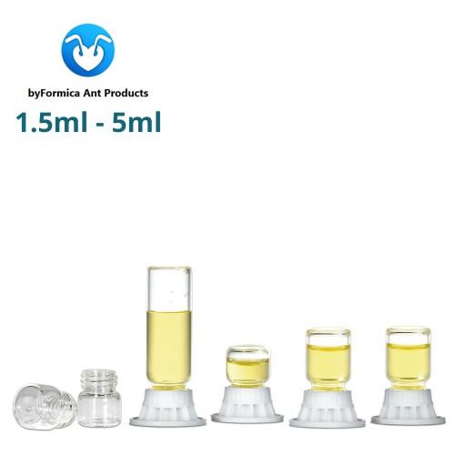 byFormica Liquid Feeders Mini - 1.5ml to 5ml - 4 Pack