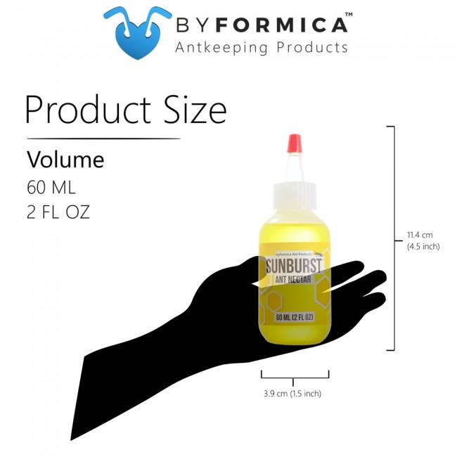 byFormica Sunburst Ant Nectar - 60 mL Bottle